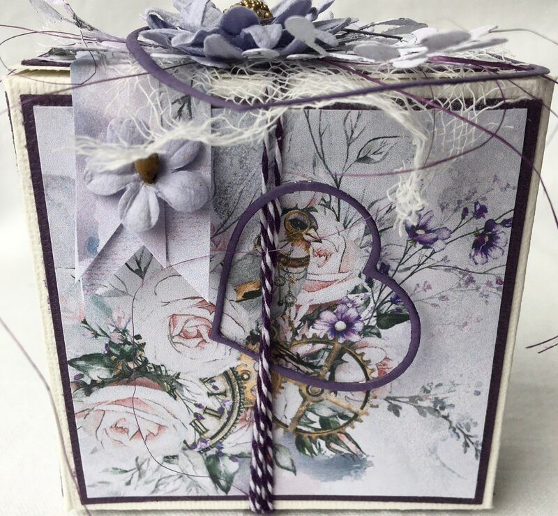 Annniversary gift box by Michelle Frisby
