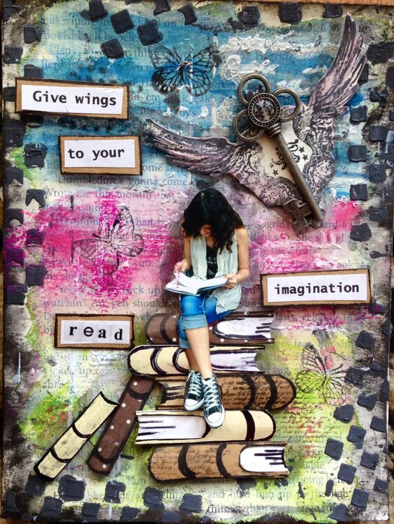 REad-- give wings to your imagination.
