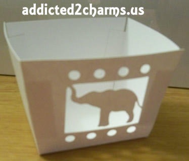 Elephant Cupcake Wrapper