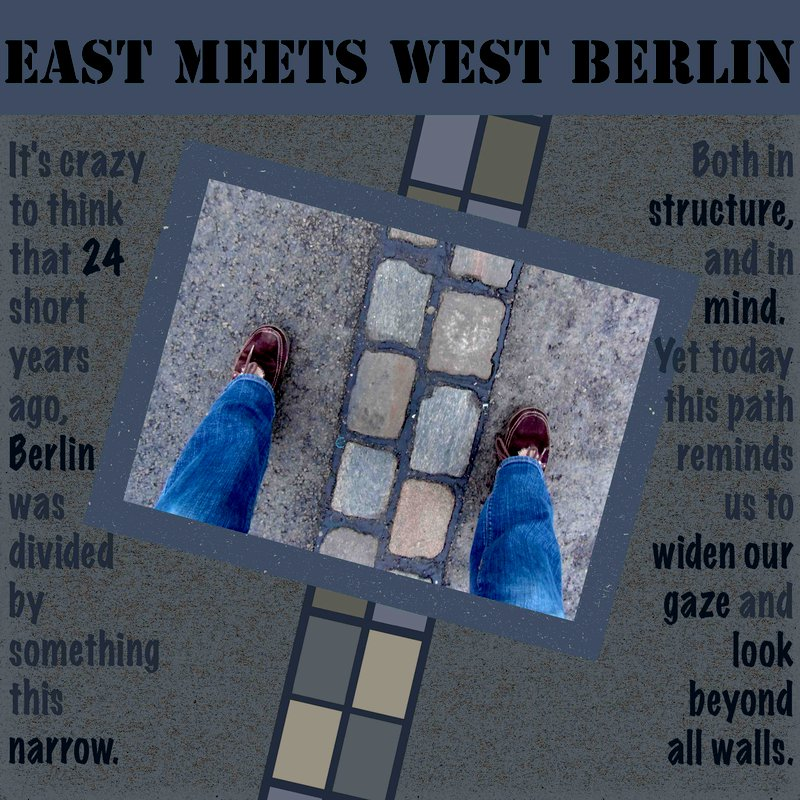 East Meets West Berlin