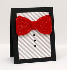 Dapper Bow Tie Card