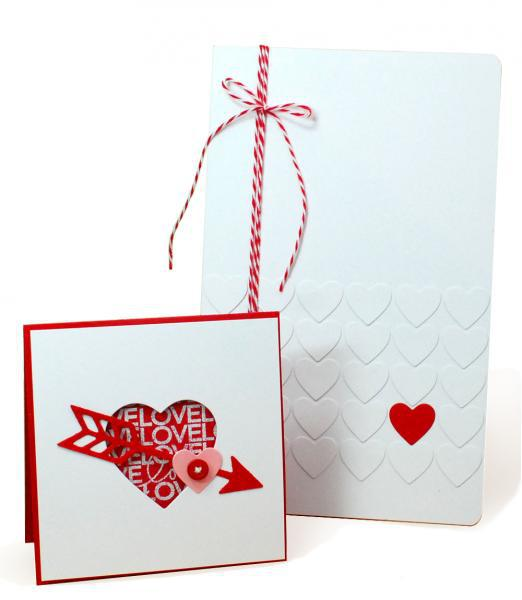 Valentine Card & Notebook