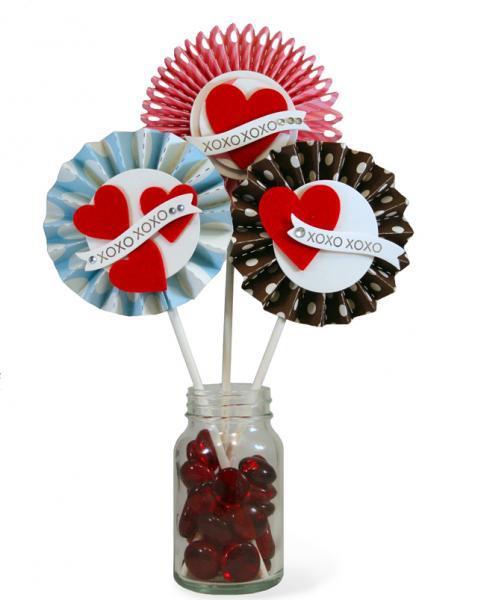 Valentines Rosettes