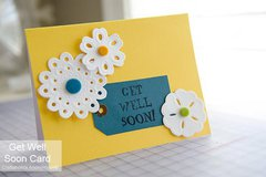 Get Well Card - Project by: Linda Gardner
