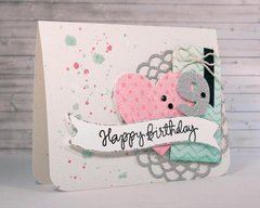 Happy Birthday 9 Card by Carissa Wiley