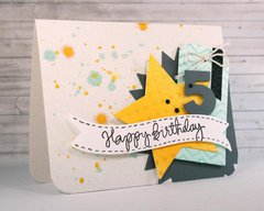 Happy Birthday 5 Card by Carissa Wiley