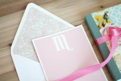Monogramed Stationery - Project by: Amber Kemp-Gerstel
