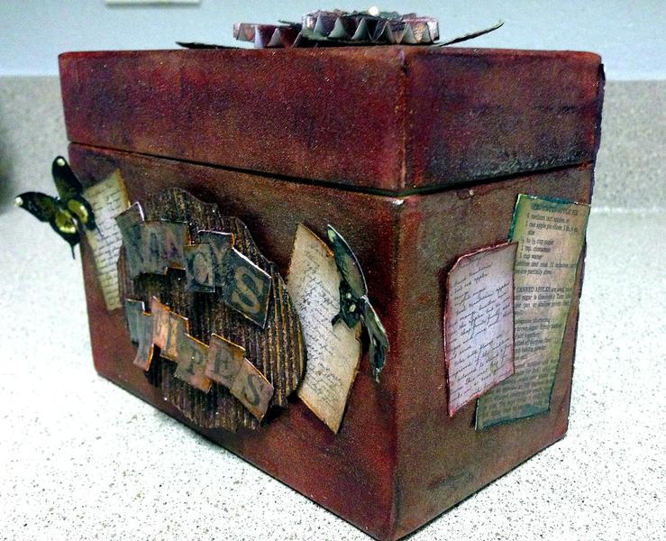 Recipe box