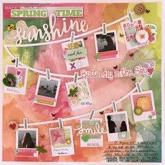"Basic Grey /// Paige Evans cut file ""Spring Time"""