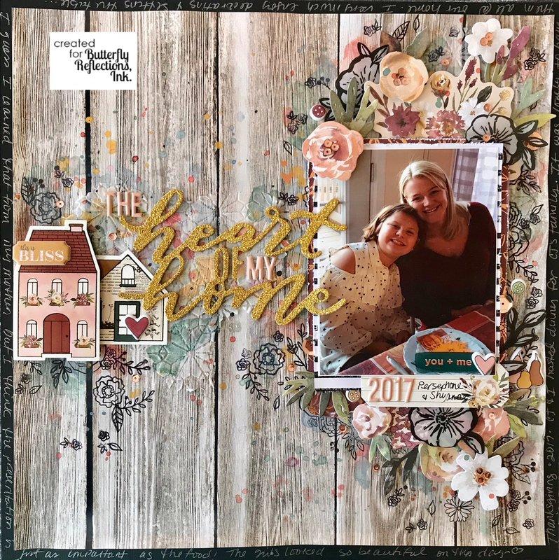 """The heart of my home"" //Pink Paislee Auburn Lane"