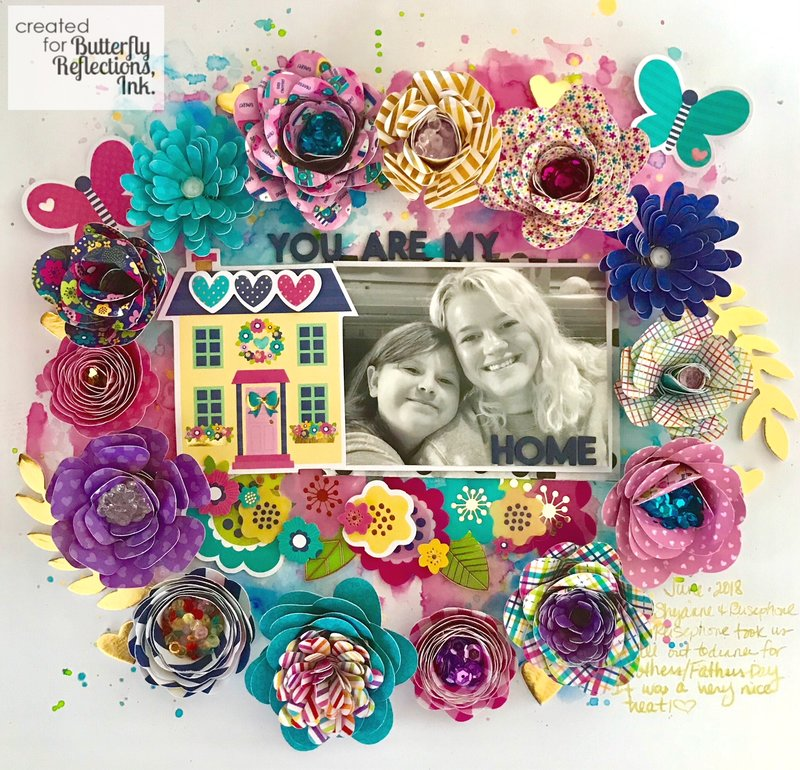 """""""You are my home"""" //Doodlebug Designs"""