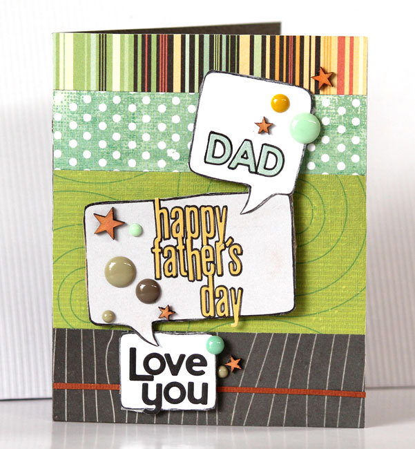 -happy father's day card-