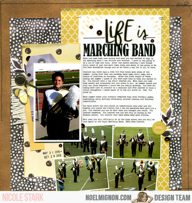 life is marching band