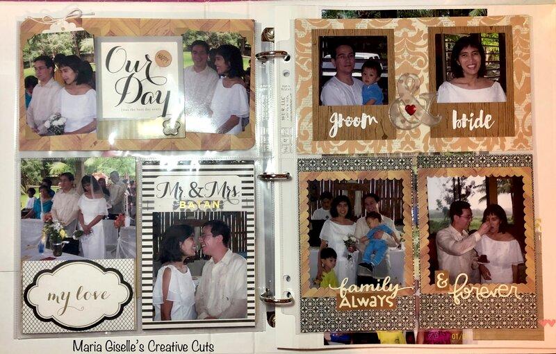 My Wedding Pocket Page
