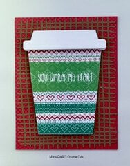 Coffee Cup Gift Card Holder Winter Card