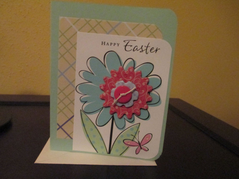 Easter cards for my family.