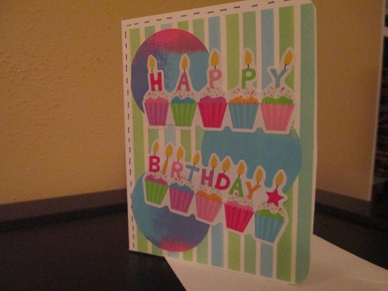 Mass produced generic Birthday cards