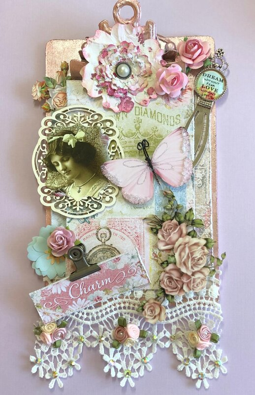Altered Clipboard for Darlene