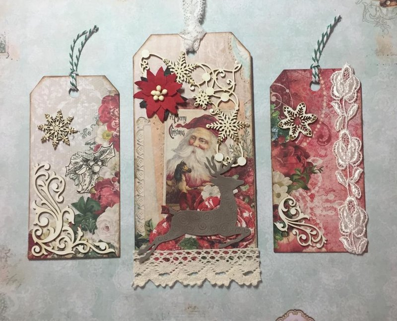 Easy Holiday Tags