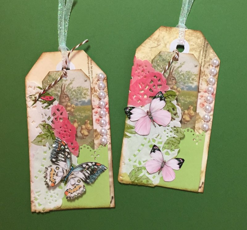 Layered Garden Tags