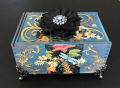 Altered Cigar Box for Terry