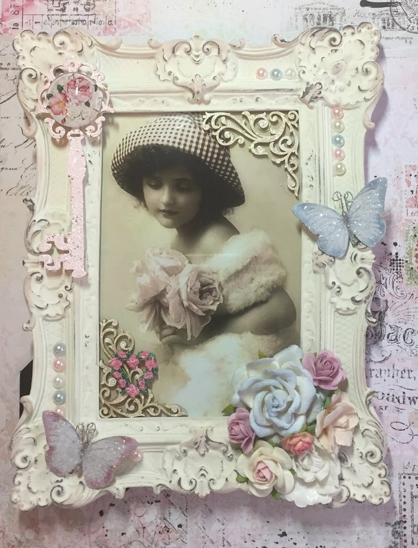 Altered Frame for Suzanne