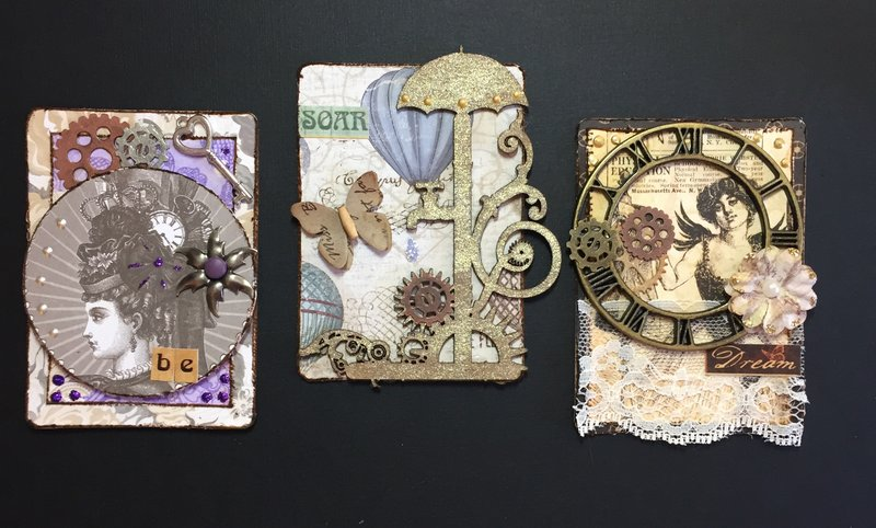 Set 4: Steampunk (ATC)