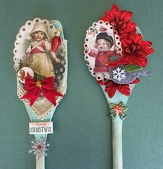 Vintage Altered Spoons