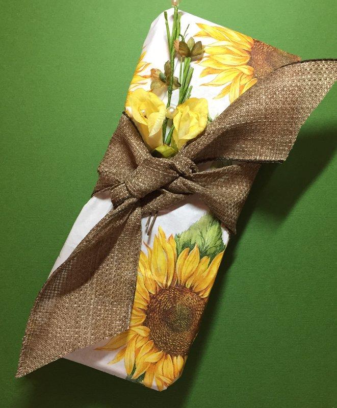 Wrapping idea (Garden Pocketletter)