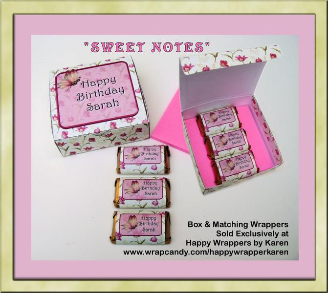 """""""Sweet Notes"""" Gift Box & Mini Wrapper"""