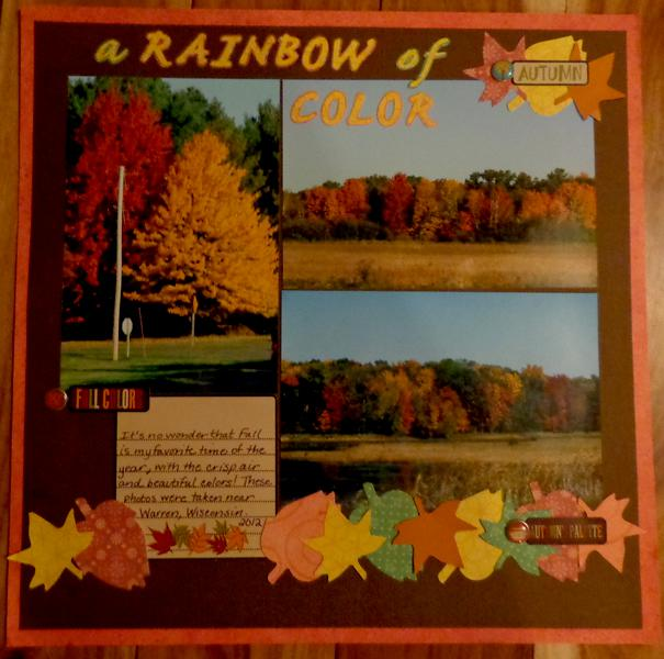 A Rainbow of Color- Autumn