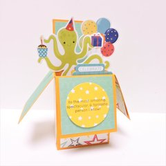 Kids Pop-up Birthday Card