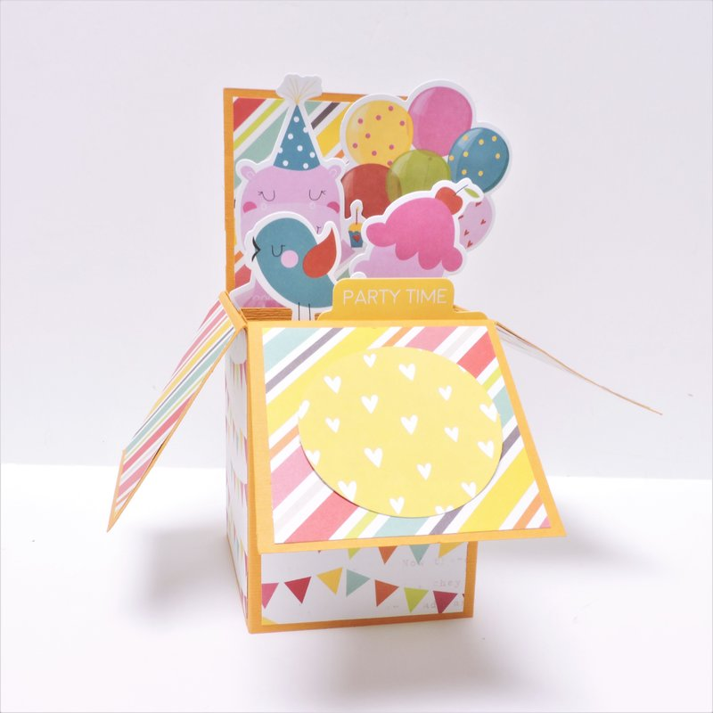 Girl Birthday Pop-up Card