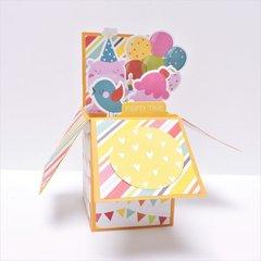 Girl Birthday Pop-up Card