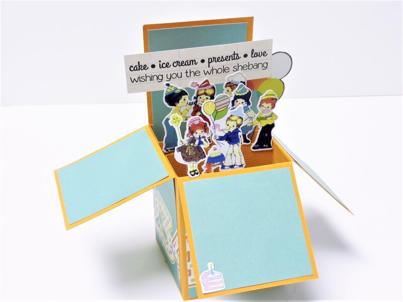 Birthday Pop-up Card for Kids