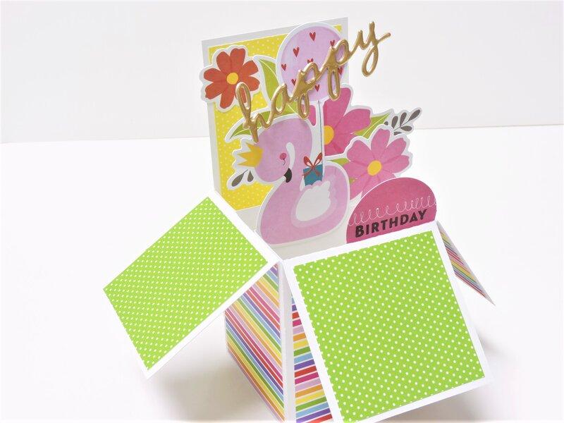 Happy Birthday Rainbow Card