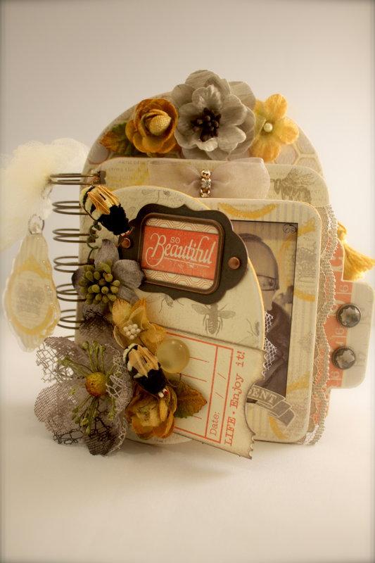 Petaloo and Authentique Mini Album