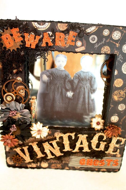 Graphic 45 Halloween Decor Door Hanger