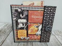 Farmhouse scrapbook