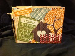 Fall scrapbook