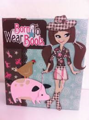 Born to wear boots scrapbook