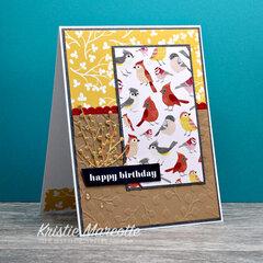 Paper Rose Whimsy Birds
