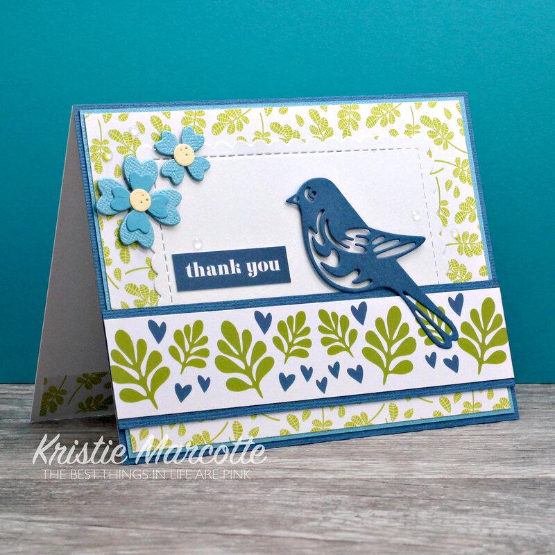 Paper Rose Whimsy Bird