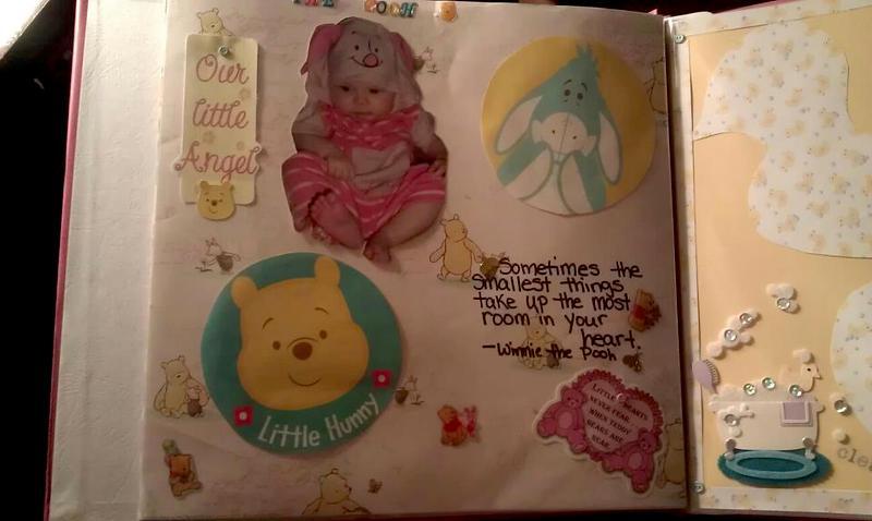 Winnie the pooh theme layout