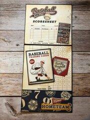 Baseball pocket card