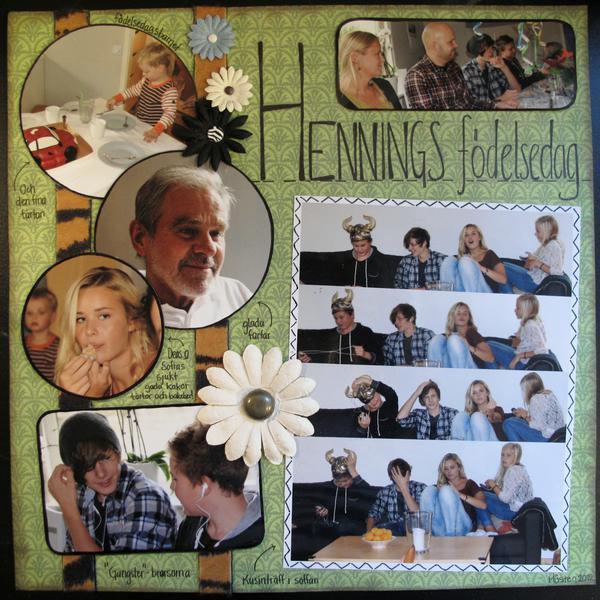 Hennings birthday party