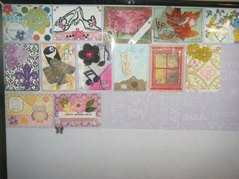 My ATC Board