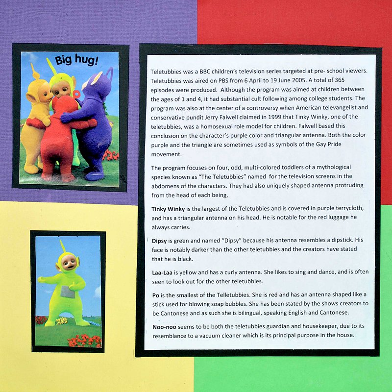 More about Teletubbies