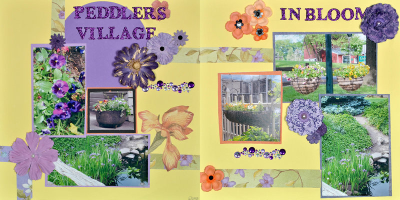Peddler's Village in Bloom