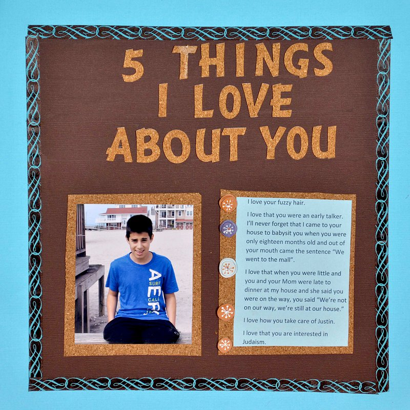 5 Things I love Avout You